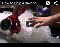 how to ship a saxophone